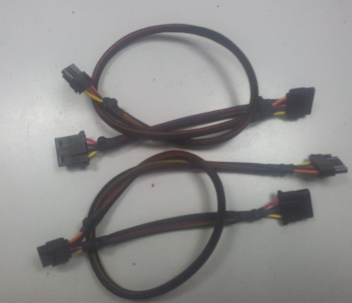 Desktop power harness